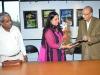 Hon. K.G. Maheshwari wlecomes Chief Guest