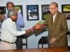 Shir Sam Manchekar welcomes Shri K.G. Maheshwari